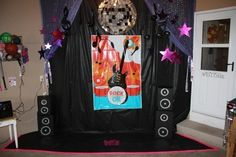 Stage for party rockstar-party