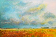 Het Veerse meer acrylic on canvas 120x80 cm Available
