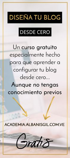 Obtén los conocimientos que necesitas para diseñar tu blog desde cero (scheduled via http://www.tailwindapp.com?utm_source=pinterest&utm_medium=twpin&utm_content=post130802971&utm_campaign=scheduler_attribution)