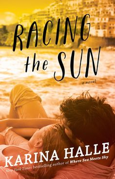 Cover Reveal: Racing the Sun by Karina Halle -On sale  July 28th 2015 by Atria Books -From the USA TODAY bestselling author of Where Sea Meets Sky comes a new adult novel about a young woman who becomes a nanny in Capri and falls for her charges' bad-boy brother.  It's time for twenty-four-year-old Amber MacLean to face the music. After a frivolous six months of backpacking through New Zealand, Australia, and Southeast Asia...