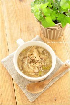 脂肪燃焼してくれ(願)リセットスープ◎きのこと、串カツは珍しいデスカ 井上かなえオフィシャルブログ 「母ちゃんちの晩御飯とどたばた日記」Powered by Ameba