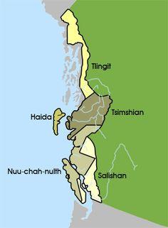 The Northwest Coastal People - Groups in this Region Arte Haida, Haida Art, Native Art, Native American Indians, Native Indian, Indian Art, Indigenous Education, Arts Integration, Tlingit