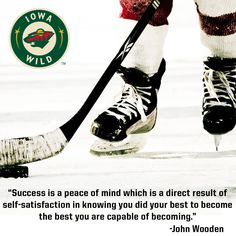 New week = new opportunity! #quotes #hockey #IAWild #Motivation