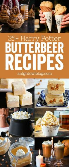 25+ Harry Potter Butterbeer Recipes - From A Night Owl Blog :: @anightowlblog :: | Glamour Shots Photography