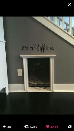 Under Stairs Dog House, Dog Bed Stairs, Kitchen Under Stairs, Under The  Stairs