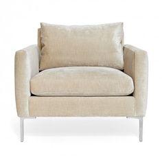"Cobble Hill Soho Chair - 35""w x 37""d x 32""h; seat 18""h; arm 25""h - 2-5 weeks"