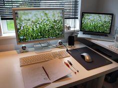 Grass desk