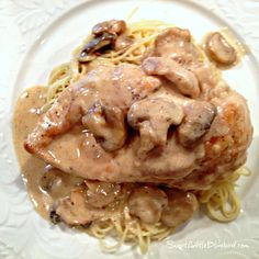 Chicken Breasts in Lemon Cream Sauce @SLBblog