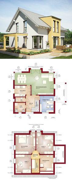 Zweifamilienhaus mit Einliegerwohnung - Haus Evolution 207 V2 von - bien zenker haus