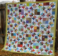 Jacobs ladder by Annette of Sunshine Yellow blog