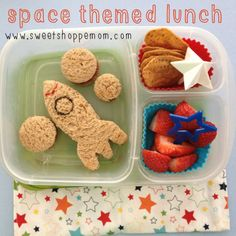 Space Themed Bento Lunch