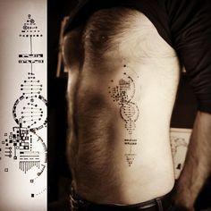 """""""#dna #dnatattoo #dotwork #dot #tattoo #fineline #epure #epureatelier#marieroura"""""""