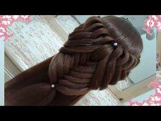 peinados recogidos faciles para cabello largo bonitos y rapidos con trenzas para niña para fiestas56 - YouTube