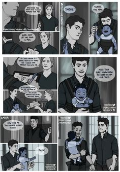 Malec kid bring your child to work day Alec Lightwood, Jace Wayland, Mortal Instruments Funny, Shadowhunters The Mortal Instruments, Shadowhunters Malec, Clary And Simon, Cassandra Clare Books, The Dark Artifices, City Of Bones