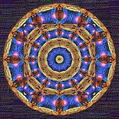 Mandalas Art - Mandala Drawing Wool Threads  by Victor Gladkiy