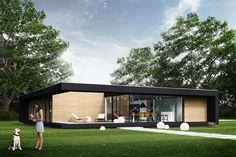 Zobacz: Nowoczesne domy jednorodzinne na portalu Archinea!