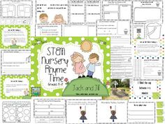 STEM Nursery Rhyme Time! by The Science School Yard...NGSS connections, stations...with writing and math included. Using FOSS pulleys or making your own is a great way to teach big concepts early on!