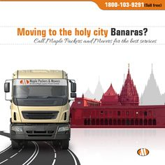 Moving to the holy city Banaras