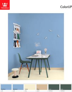 #Tikkurila Daydream (J354) is a light #blue that allows you to see everything in new ways.