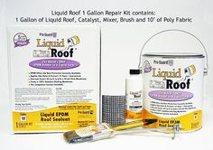 Liquid Roof RV Roof Repair Gallon Kit -- Read more reviews of the product by visiting the link on the image.