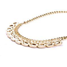 Colier VERO MODA Iris Pale Gold Iris, Diamond, Bracelets, Gold, Jewelry, Irise, Jewlery, Bijoux, Irises