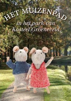 Het muizenpad is à € 2,– te koop bij de balie. Na afloop krijgen de kinderen een Muizencertificaat.