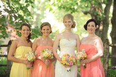 20 Fresh Yellow And Salmon Spring Wedding Inspirational Ideas Weddingomania   Weddingomania