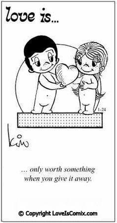 Love is... Comic for Fri, Jun 11, 2010