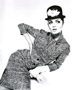 Mirella Petteni photographed by F.C. Gundlach,  Berlin 1964