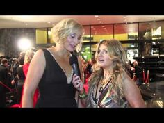 JOHANNA GRIGGS from BETTER HOMES AND GARDENS on the red carpet at the TV WEEK LOGIES 2011