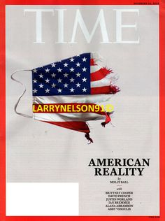 TIME MAGAZINE NOVEMBER 2020 AMERICAN REALITY COOPER FRENCH ABRAMSON BREMMER ABBY