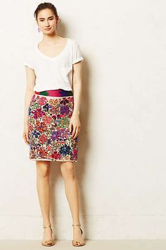 Anthropologie - Palenque Pencil Skirt