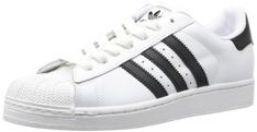 adidas Originals Superstar II G17068, Unisex-Erwachsene Low-Top Sneaker, Weiß (White/Black/White), EU 44 2/3 - http://uhr.haus/adidas-originals/adidas-originals-superstar-ii-g17068-unisex-low-2