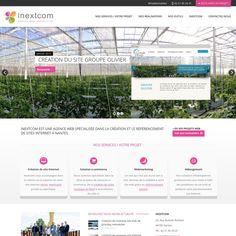 Lancement de notre nouveau site web sous #wordpress http://www.inextcom.fr
