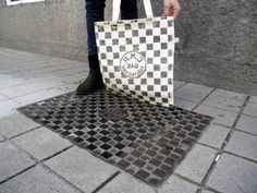 Guerrilla Apparel: Pirate Printers Press Clothes to Painted Public Surfaces | Urbanist