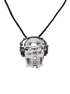 HONOR Headphones Skull Necklace ευχαριστω Βασιλικη για το δώρο σου!!!ειναι τέλειο!!!