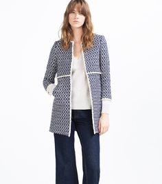 This Zara Coat Is So Famous It Has Its Own Instagram Account via @WhoWhatWearUK