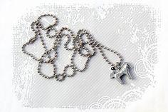 PYKNIC2 tiny horse lover pendant necklace animal charm by PYKNIC2, $12.50 ❤ www.pyknic2.etsy.com
