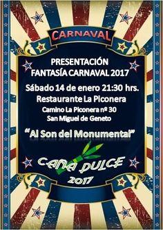 Grupo Mascarada Carnaval: Presentación fantasía Caña Dulce 2017