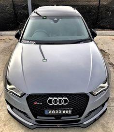 Audi RS3 #audi #rs #rs3 #audirs3 Audi Motor, Car Shoe, Audi Rs3, Hot Cars, Exotic Cars, Supercars, Motto, Roads, Dream Cars