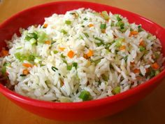 Serves 4 Ingredients: 4 cup cooked cold rice 3 cups of mixed vegetables 2 tablespoon cooking oil 2 tablespoons of chopped onions ½ t...