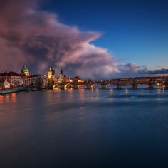 Storm Above the Bridge by Martin Rak on 500px