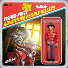 Fisher Price Adventure People Killers - Freddy - Phil Postma