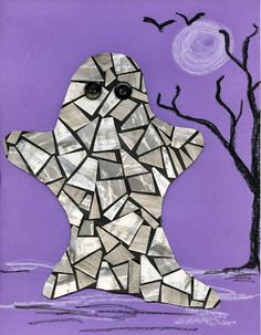 "that artist woman: Halloween Mosaics and ""Mastering Mosaics"" Giveaway"