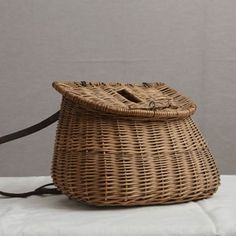 19th C Fishermans Basket - The Hoarde