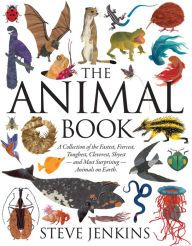 The Animal Book by Steve Jenkins -- Prairie Pasque 2015-16 Nominee