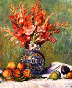 Impressionist art for sale Flowers and Fruit Pierre Auguste Renoir painting Handmade High quality Pierre Auguste Renoir, Edouard Manet, Henri Matisse, August Renoir, French Impressionist Painters, Impressionist Paintings, Renoir Paintings, Canvas Paintings, Canvas Art