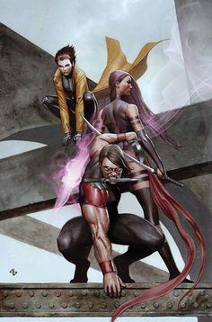 X-MEN - Warpath, Psylocke, Jubilee