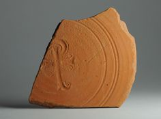 African red slip ware sherd Chi Rho 32