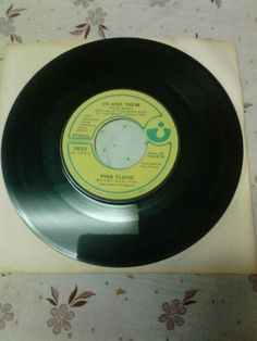 Pink Floyd Time Us & Them 45 Rpm 1974